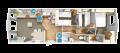 Rio Premier - 3 bed floor plan